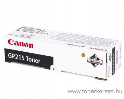 Canon GP-215 eredeti fekete toner 1388A002AA Canon GP 215 fénymásolóhoz