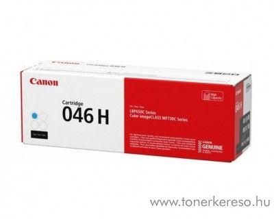 Canon i-SENSYS LBP654Cx (CRG046H) eredeti cyan toner 1253C002 Canon I-Sensys MF 733Cdw lézernyomtatóhoz
