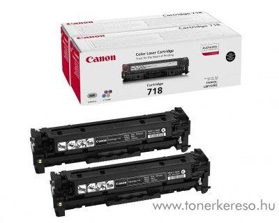 Canon i-SENSYS MF724Cdw 2 db eredeti black toner 2662B005 Canon i-SENSYS MF8360Cdn lézernyomtatóhoz