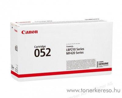 Canon i-SENSYS MF-428x (CRG052) eredeti black toner 2199C002 Canon i-SENSYS MF426dw lézernyomtatóhoz