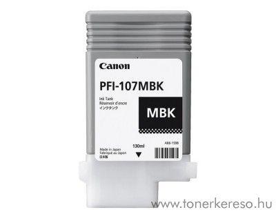 Canon IPF680 (PFI-107) eredeti matt black tintapatron 6704B001AA Canon Imageprograf iPF685 tintasugaras nyomtatóhoz