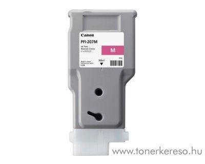 Canon IPF680 (PFI-207) eredeti magenta tintapatron 8791B001AA Canon Imageprograf iPF780 tintasugaras nyomtatóhoz