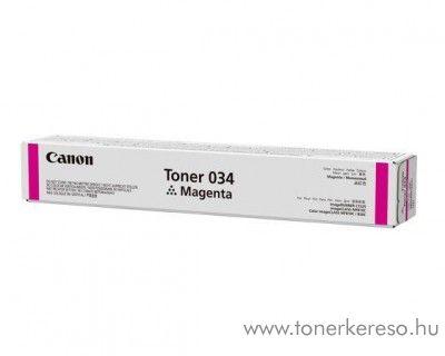 Canon iRC 1225/1225iF (034) eredeti magenta toner CF9452B001AA