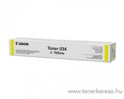 Canon iRC 1225/1225iF (034) eredeti yellow toner CF9451B001AA
