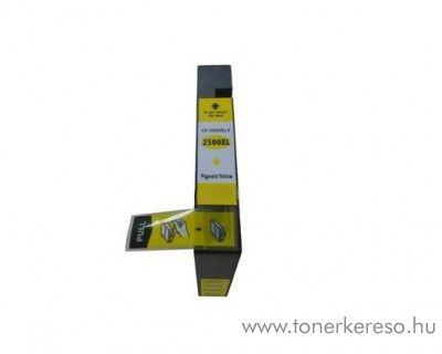 Canon MAXIFY MB5050 (PGI-2500XL) utángyártott yellow patron Canon MAXIFY iB4150 tintasugaras nyomtatóhoz