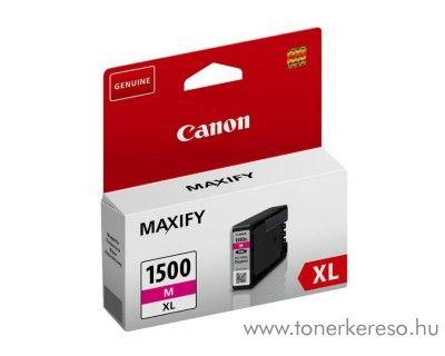 Canon Maxify MB 2050/2350 eredeti magenta tintapatron PGI1500XLM Canon Maxify MB2750 tintasugaras nyomtatóhoz