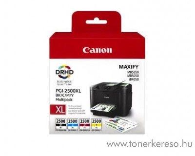 Canon Maxify MB 5050/5350 eredeti CMY-BK tintap. PGI2500XLBKCMY Canon MAXIFY MB5450 tintasugaras nyomtatóhoz