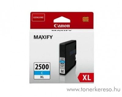 Canon Maxify MB 5050/5350 eredeti cyan tintapatron PGI2500XLC Canon MAXIFY iB4150 tintasugaras nyomtatóhoz