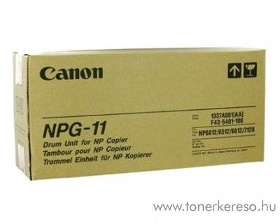 Canon NPG-11 eredeti black drum 1337A001AA
