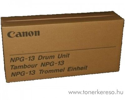 Canon NPG-13 eredeti black drum 1338A002AA