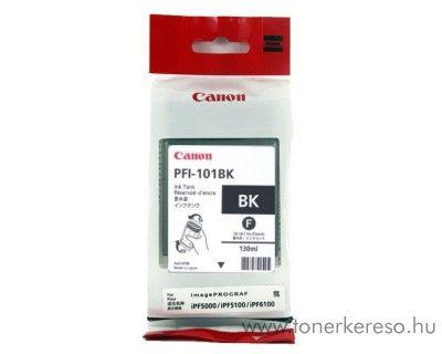 Canon PFI-101BK eredeti fekete tintapatron 0883B001AA Canon imagePROGRAF iPF5000 tintasugaras nyomtatóhoz