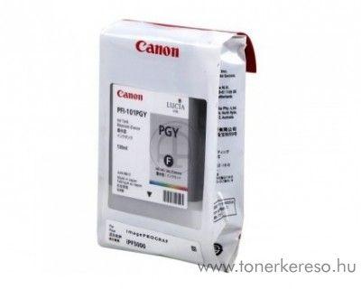 Canon PFI-101PGY eredeti photo grey tintapatron 0893B001AA Canon imagePROGRAF iPF5000 tintasugaras nyomtatóhoz