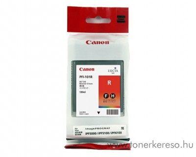 Canon PFI-101R eredeti red tintapatron 0889B001AA Canon imagePROGRAF iPF5000 tintasugaras nyomtatóhoz