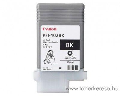 Canon PFI-102BK eredeti fekete black tintapatron 0895B001AA Canon imagePROGRAF 500 tintasugaras nyomtatóhoz