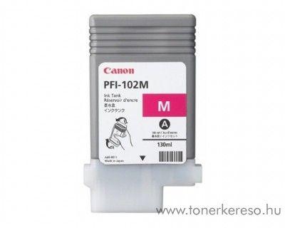 Canon PFI-102M eredeti magenta tintapatron 0897B001AA