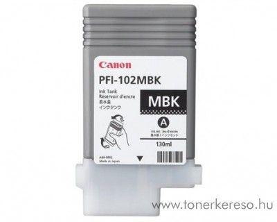 Canon PFI-102MBK eredeti matt fekete tintapatron 0894B001AA Canon imagePROGRAF iPF655 tintasugaras nyomtatóhoz