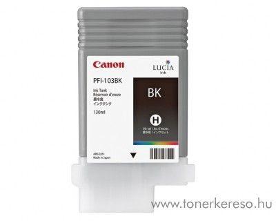 Canon PFI-103BK eredeti fekete black  tintapatron 2212B001AA Canon imagePROGRAF iPF6200S tintasugaras nyomtatóhoz