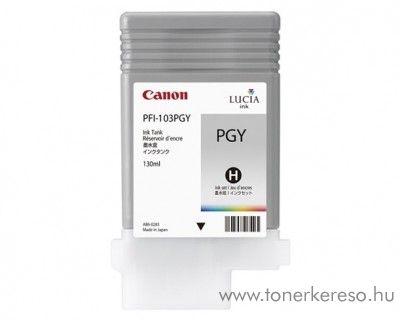 Canon PFI-103PGY eredeti photo grey tintapatron 2214B001AA Canon imagePROGRAF iPF6200 tintasugaras nyomtatóhoz