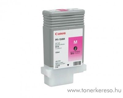 Canon PFI-104M eredeti magenta tintapatron 3631B001AA Canon imagePROGRAF iPF650 tintasugaras nyomtatóhoz