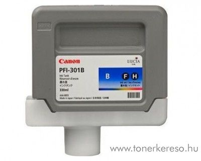 Canon PFI-301B eredeti blue tintapatron 1494B001AA Canon imagePROGRAF iPF8100 tintasugaras nyomtatóhoz