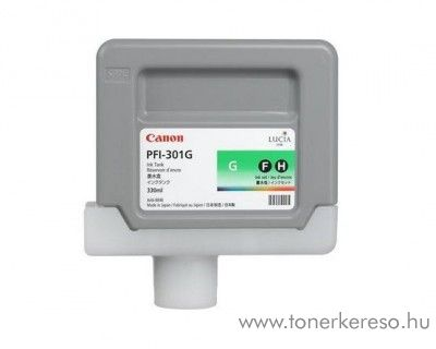 Canon PFI-301G eredeti green tintapatron 1493B001AA Canon imagePROGRAF iPF9000S tintasugaras nyomtatóhoz