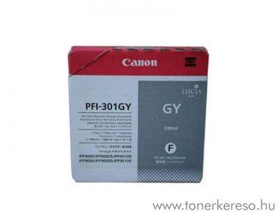 Canon PFI-301GY eredeti szürke tintapatron 1495B001AA Canon imagePROGRAF 9000 tintasugaras nyomtatóhoz