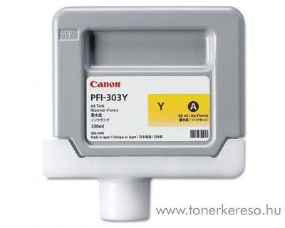 Canon PFI-303Y eredeti yellow tintapatron 2961B001AA Canon imagePROGRAF iPF820 PRO tintasugaras nyomtatóhoz