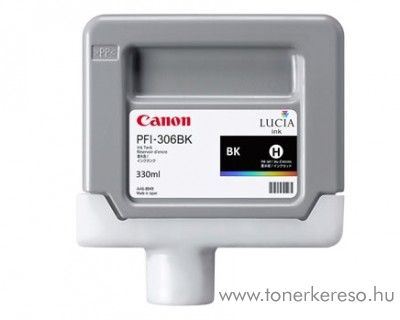 Canon PFI-306BK eredeti black tintapatron 6657B001AA Canon imagePROGRAF iPF8400  tintasugaras nyomtatóhoz