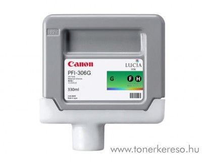 Canon PFI-306G eredeti green tintapatron 6664B001AA Canon imagePROGRAF iPF8400  tintasugaras nyomtatóhoz