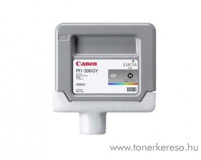 Canon PFI-306GY eredeti grey tintapatron 6666B001AA Canon imagePROGRAF iPF8400  tintasugaras nyomtatóhoz