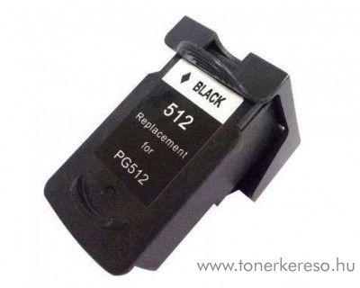 Canon PG-512Bk fekete black kompatibilis tintapatron Canon PIXMA MX420 tintasugaras nyomtatóhoz