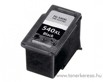 Canon PG-540XL kompatibilis/felújított tintapatron fekete FUPG54 Canon PIXMA MG3150 tintasugaras nyomtatóhoz