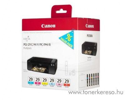 Canon PGI-29C/M/Y/PC/PM/R eredeti tintapatron csomag 4873B005 Canon PIXMA PRO-1 tintasugaras nyomtatóhoz