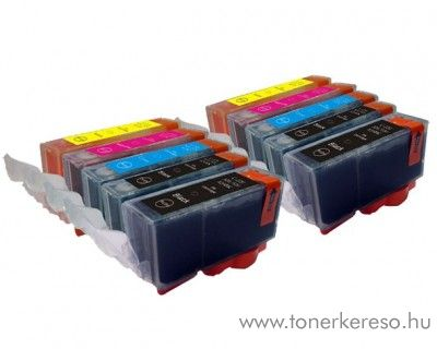 Canon PGI-520/CLI-521 10 db-os utángyártott patroncsomag Canon MP630 tintasugaras nyomtatóhoz