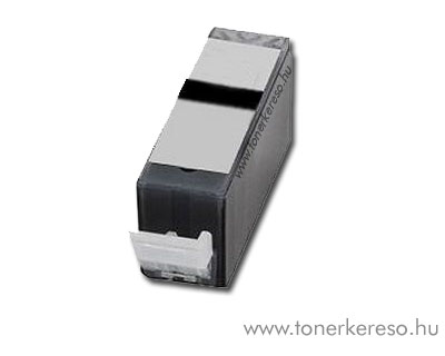 Canon PGI-525Bk fekete utángyártott tintapatron chipes OP Canon PIXMA MG6250 tintasugaras nyomtatóhoz