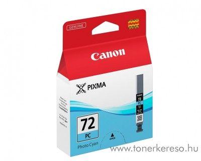 Canon PGI-72PC eredeti photo cyan tintapatron 6407B001 Canon PIXMA Pro 10 tintasugaras nyomtatóhoz