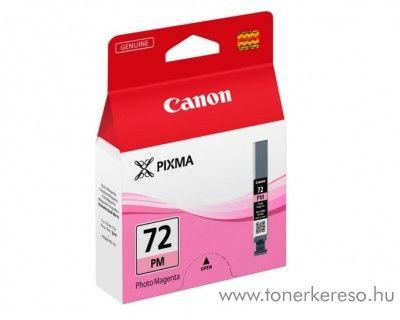 Canon PGI-72PM eredeti photo magenta tintapatron 6408B001 Canon PIXMA Pro 10 tintasugaras nyomtatóhoz