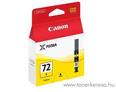 Canon PGI-72Y eredeti yellow tintapatron 6406B001 Canon PIXMA Pro 10 tintasugaras nyomtatóhoz