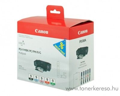Canon PGI 9 MBK/PC/PM/R/G multipack 1033B013