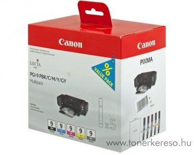 Canon PGI 9 PBK/C/M/Y/GY multipack 1034B013