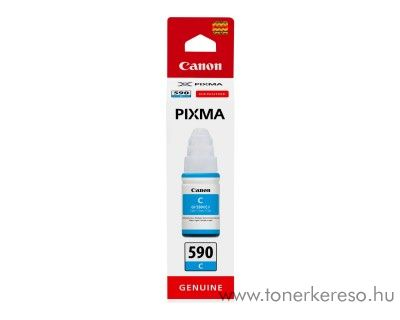 Canon Pixma G1500 (GI-590C) eredeti cyan tinta 1604C001 Canon Pixma G3500 tintasugaras nyomtatóhoz