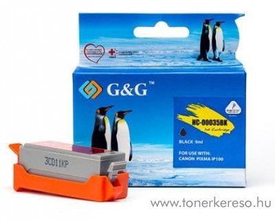 Canon PIXMA iP100/110 utángyártott fekete tintapatron GGCPGI35  Canon PIXMA iP110  tintasugaras nyomtatóhoz