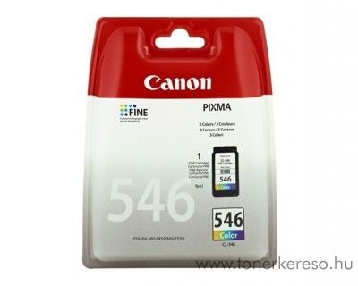 Canon CL-546 eredeti CMY tintapatron 8289B001 Canon PIXMA MG2555 tintasugaras nyomtatóhoz