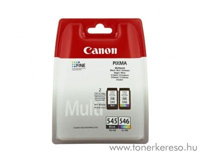 Canon PIXMA MG2450 eredeti CMYBK multipack 8287B005 Canon PIXMA iP2850  tintasugaras nyomtatóhoz