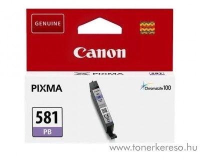 Canon PIXMA TR7550 eredeti photo blue tintapatron CLI581PB Canon PIXMA  TS8151 tintasugaras nyomtatóhoz