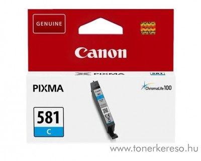Canon PIXMA TR7550 eredeti cyan tintapatron CLI581C Canon PIXMA  TS8151 tintasugaras nyomtatóhoz