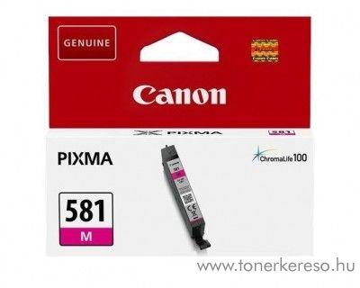 Canon PIXMA TR7550 eredeti magenta tintapatron CLI581M Canon PIXMA  TS8151 tintasugaras nyomtatóhoz