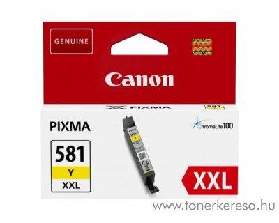 Canon PIXMA TR7550 eredeti yellow tintapatron CLI581YXXL Canon PIXMA TS9155 tintasugaras nyomtatóhoz