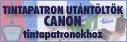 Utántöltők Canon patronokho