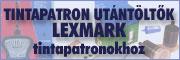 Utántöltők Lexmark patronok
